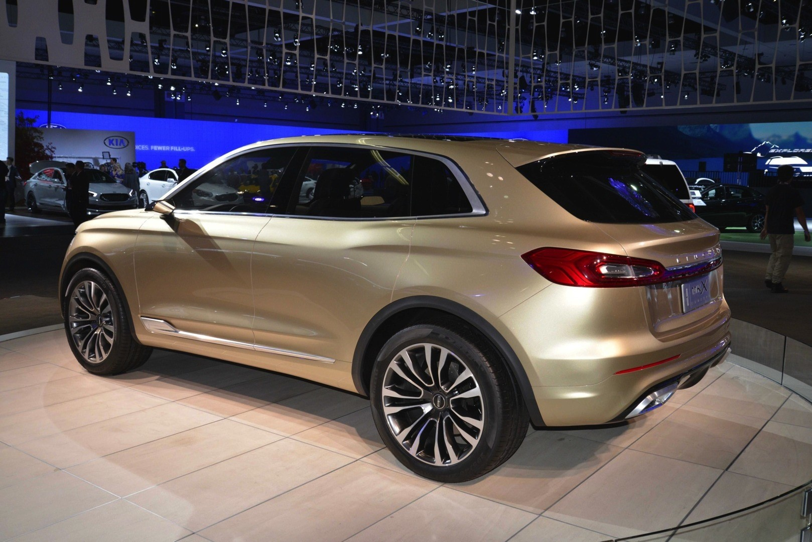 2014 LA Auto Show: Lincoln MKX Concept Shows Dynamic LEDs in the ...
