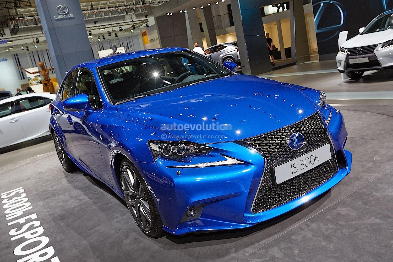 Lexus Lf Nx >> 2014 Lexus IS 300h F Sport in Ultra Blue at Frankfurt 2013 - autoevolution