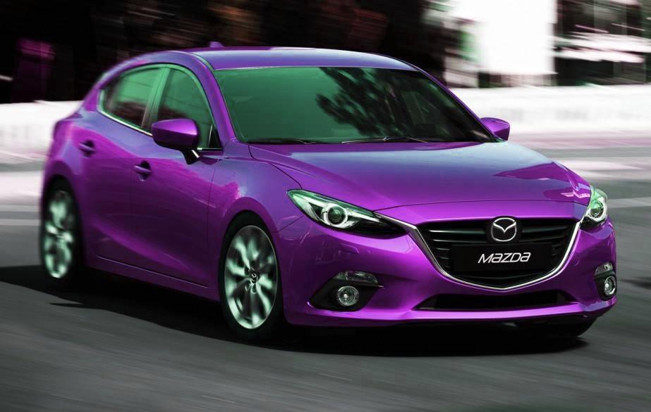 2014 Mazda3 Imagined in More Colors - autoevolution