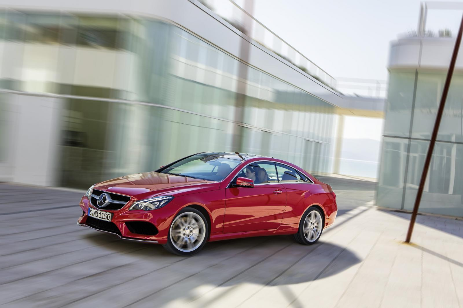2014 MercedesBenz EClass Coupe and Cabriolet Facelift Released