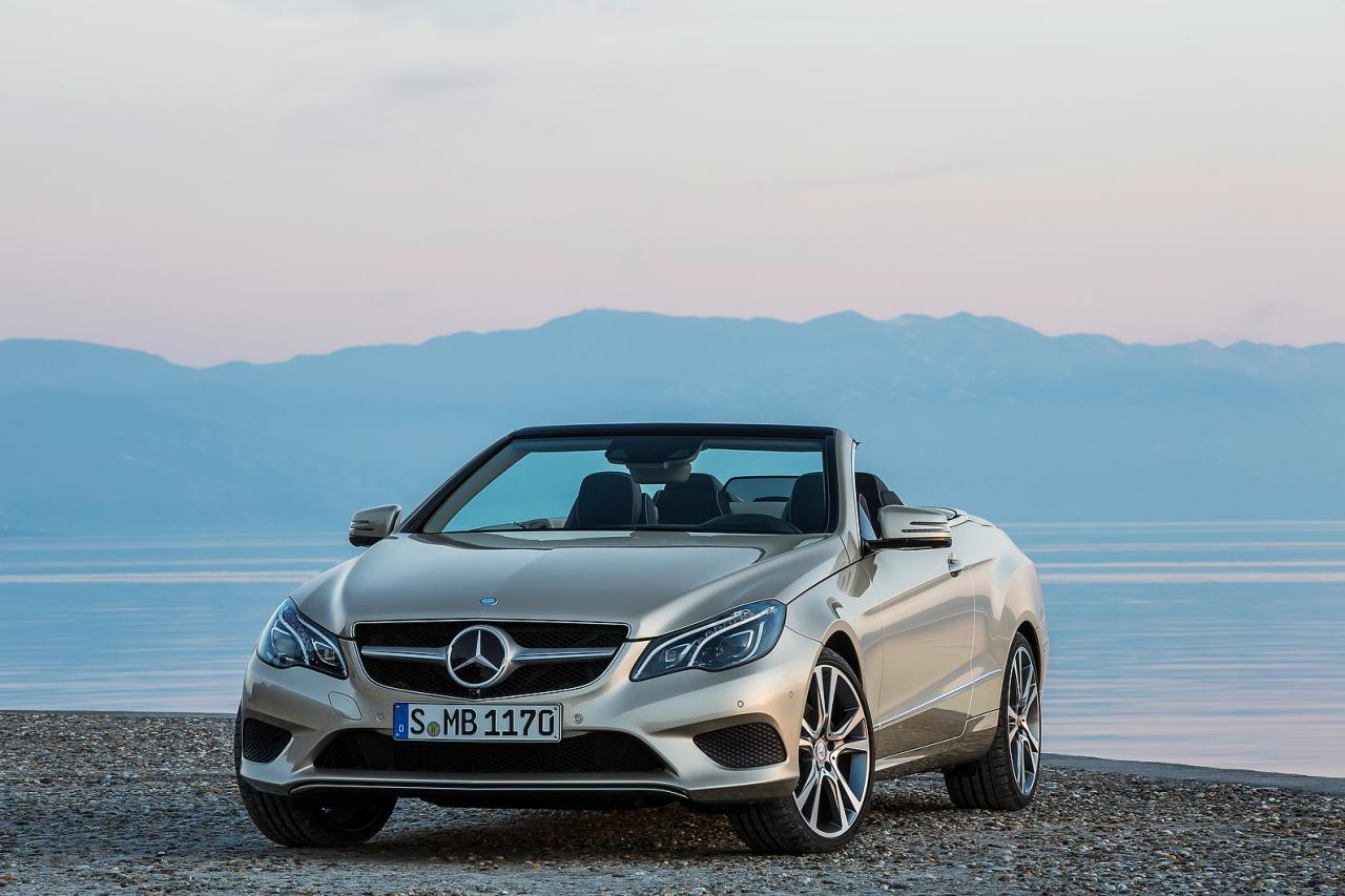 2014 Mercedes Benz E Class Coupe And Cabriolet Facelift