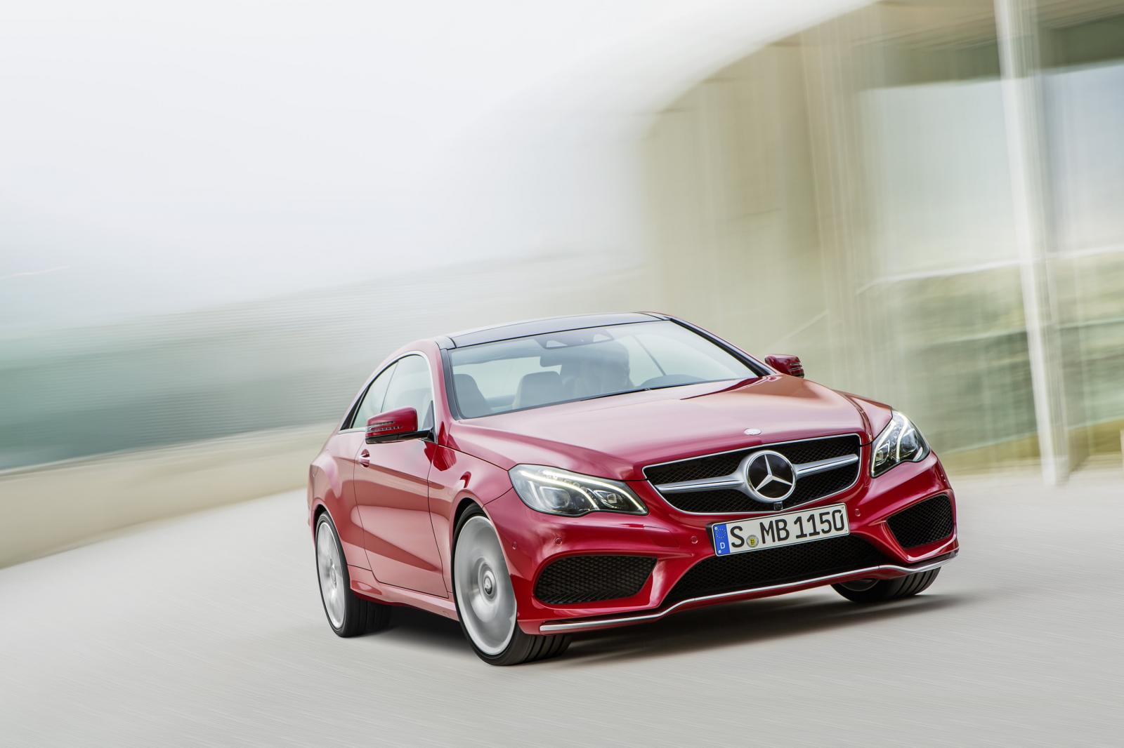 2014 mercedes benz e class coupe and cabriolet facelift for Mercedes benz e350 coupe convertible
