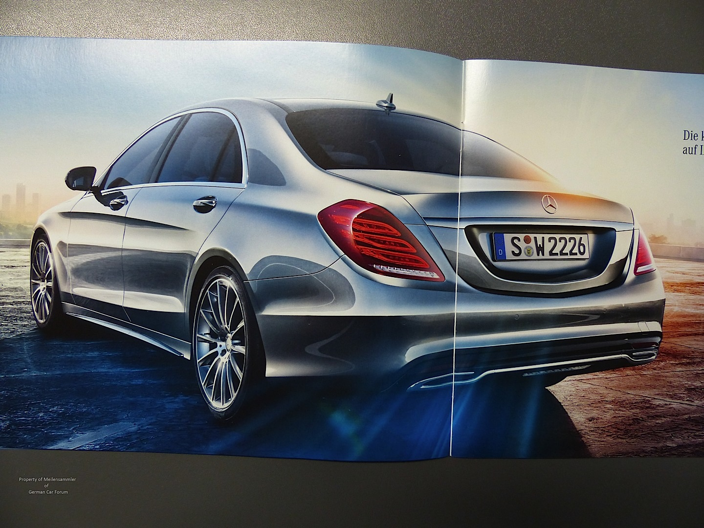2014 mercedes benz s class new details shown in leaked for New mercedes benz s class 2014