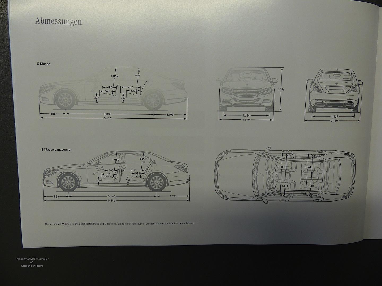 Mercedes B Class Interior Dimensions