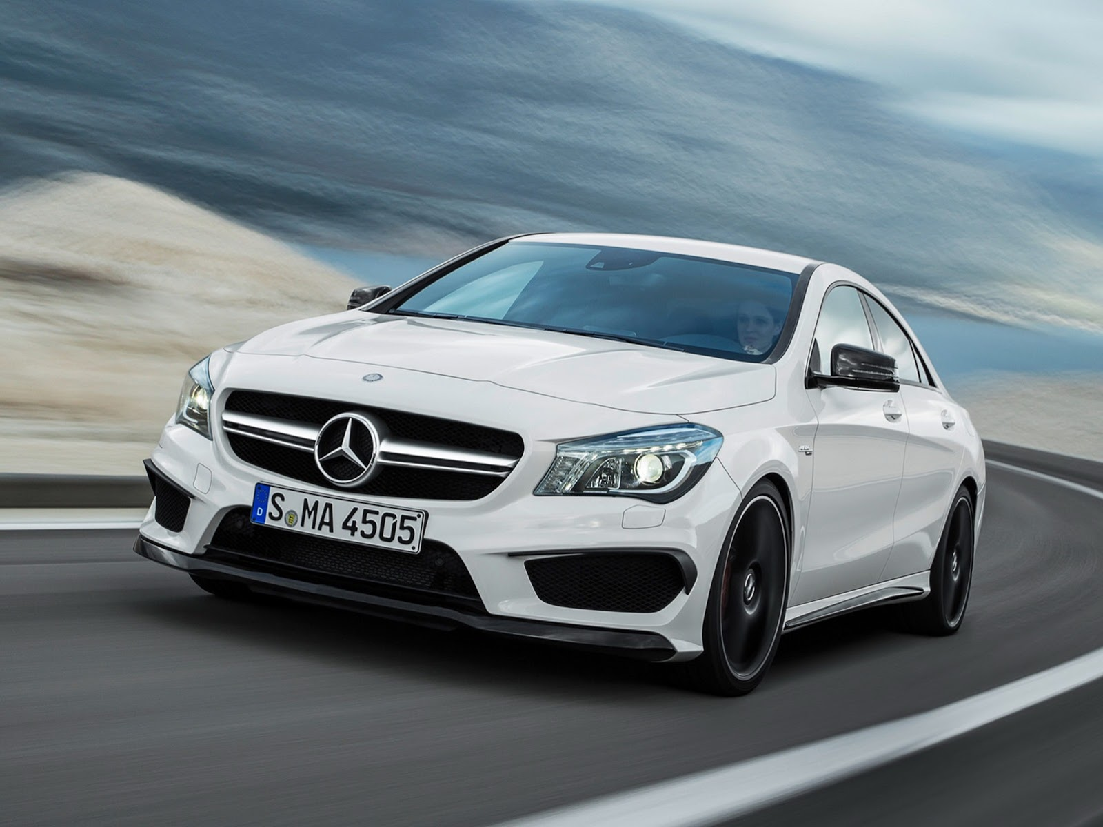 Render: 2014 Mercedes-Benz CLA 45 AMG Black Series