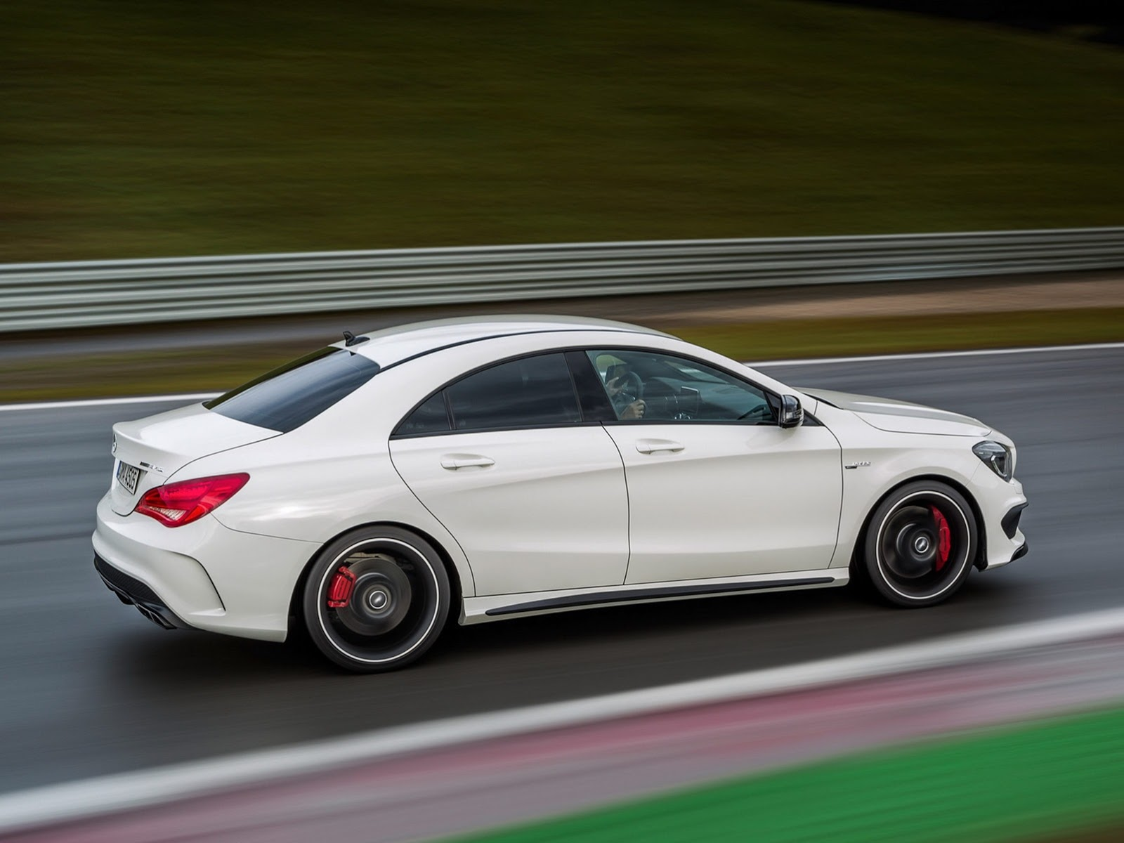 2014 Mercedes Cla 45 Amg First Photos Leaked