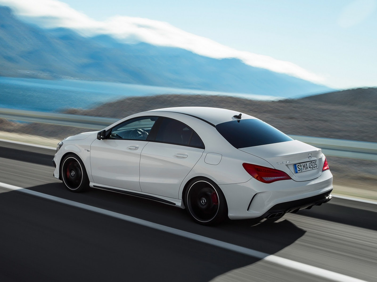 2014 mercedes cla 45 amg first photos leaked autoevolution for Mercedes benz amg cla 45