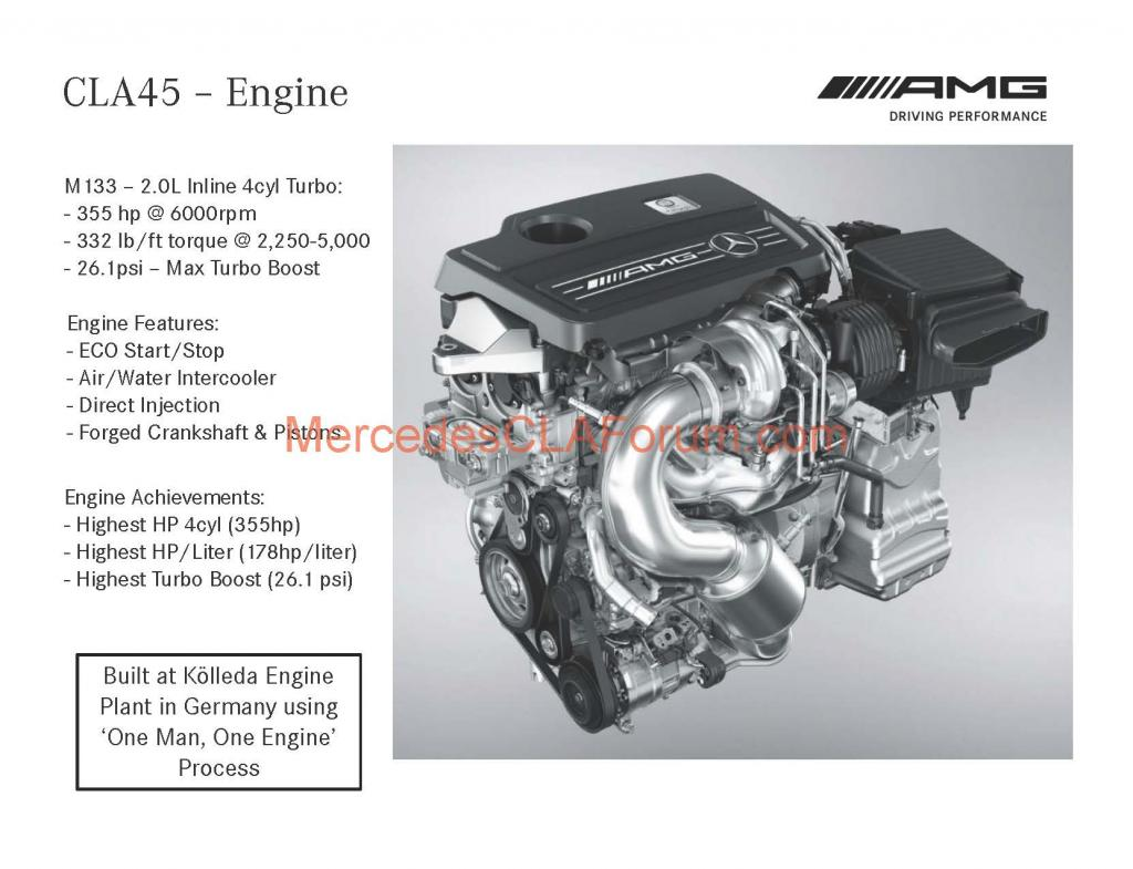 2014 Mercedes Cla45 Amg Us Order Guide Leaked Autoevolution
