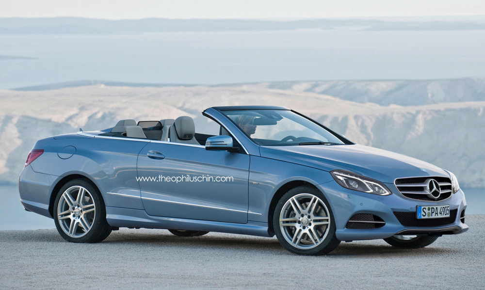 2014 mercedes e class cabriolet facelift a207 autoevolution. Black Bedroom Furniture Sets. Home Design Ideas