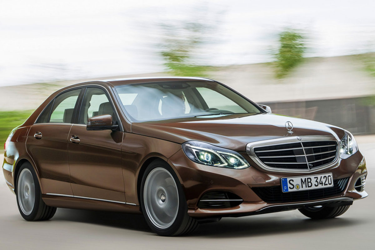 2014 mercedes e class facelift photos leaked including. Black Bedroom Furniture Sets. Home Design Ideas