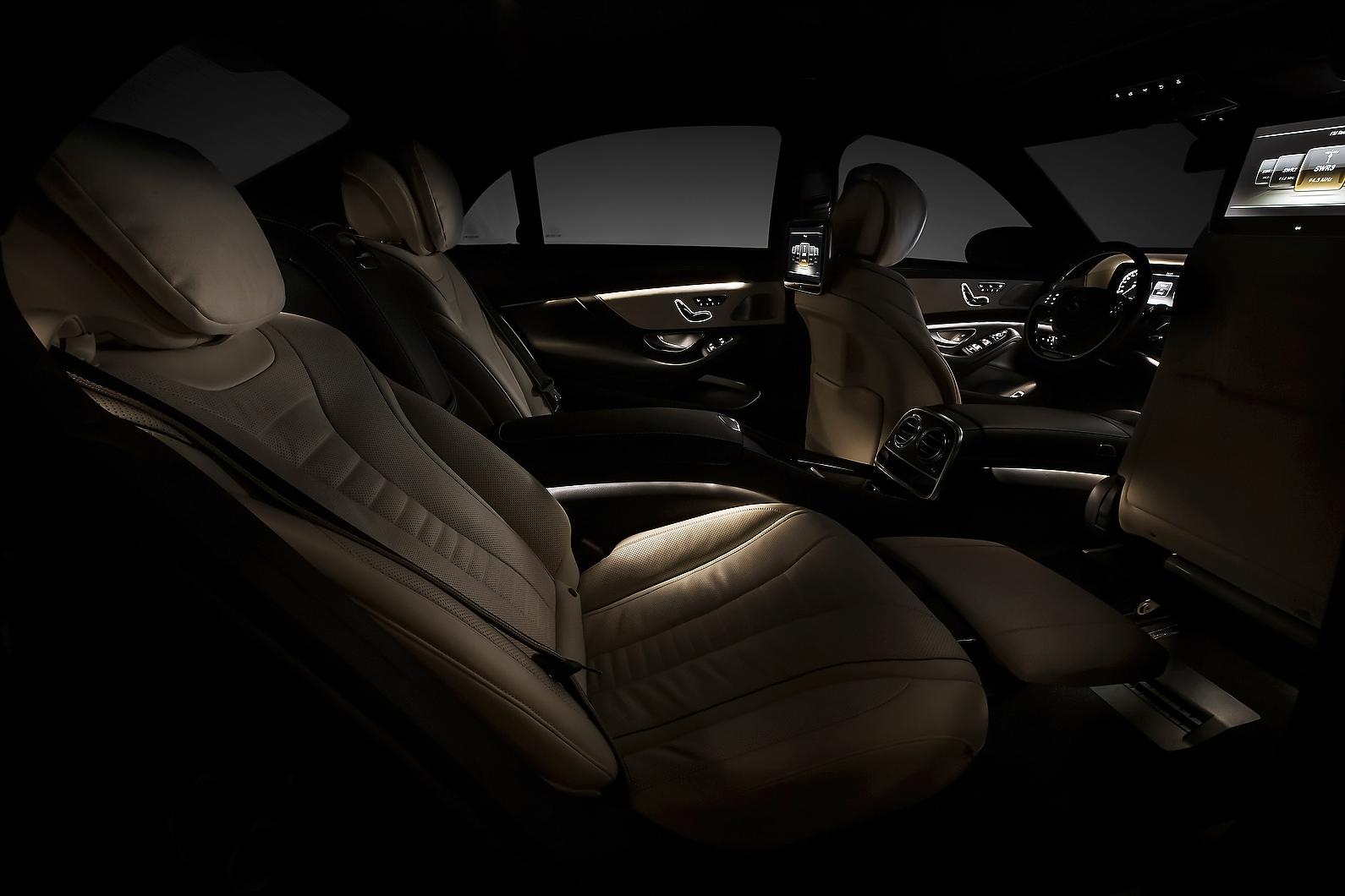 2014 mercedes s class official interior photos released autoevolution. Black Bedroom Furniture Sets. Home Design Ideas