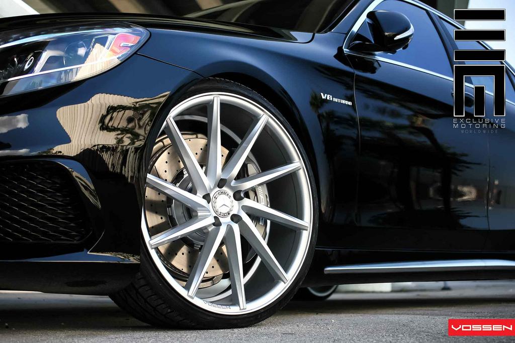2014 Mercedes S63 AMG Gets Vossen 22-inch Wheels ...