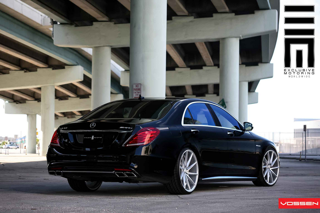 2014 Mercedes S63 Amg Gets Vossen 22 Inch Wheels