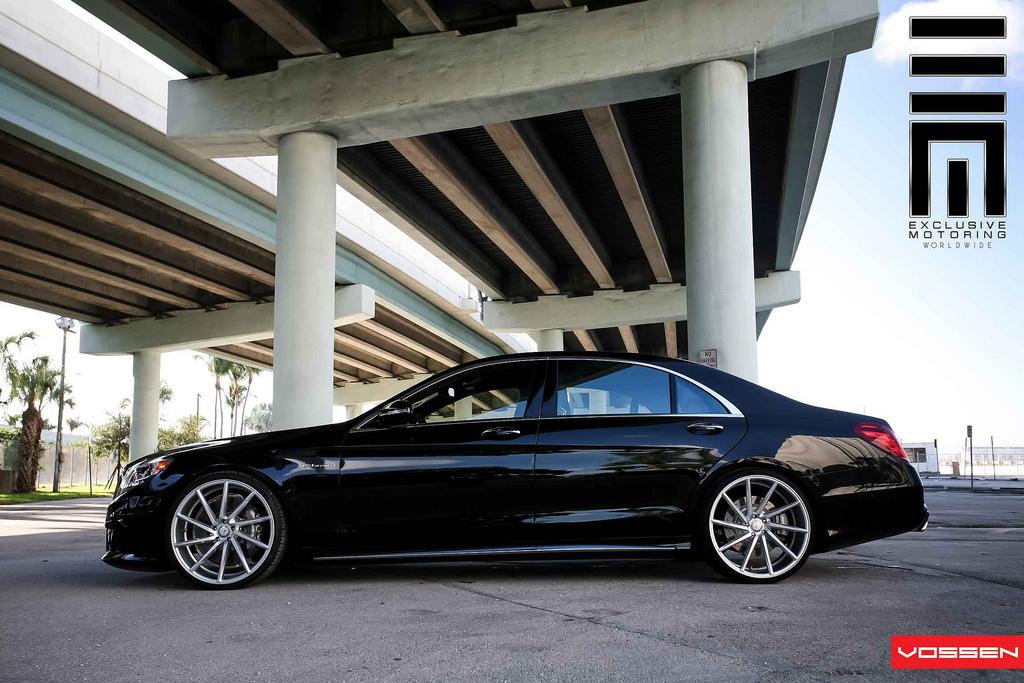 2014 mercedes s63 amg gets vossen 22 inch wheels for Mercedes benz s class rims