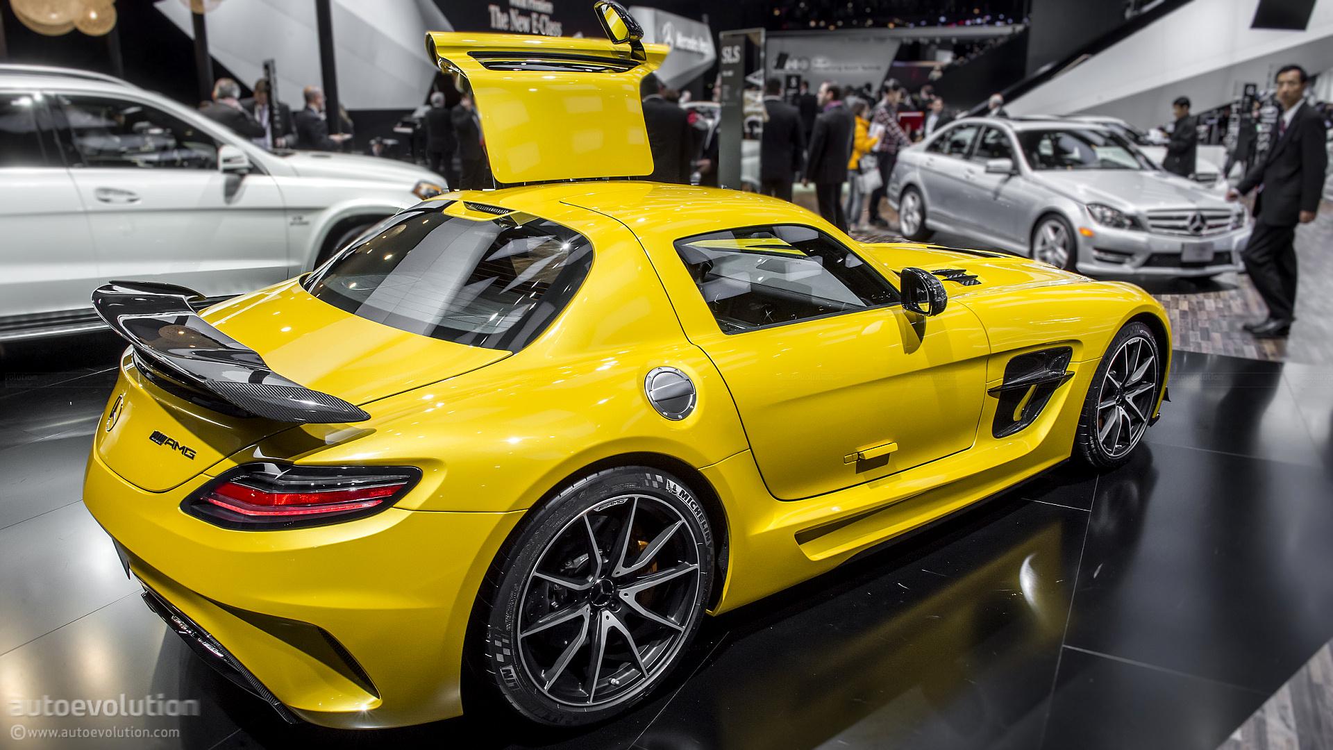 2014 Mercedes SLS AMG Black Series US Pricing Announced ...