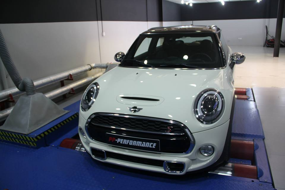 2014 MINI Cooper S Taken Up To 250 HP By PP Performance
