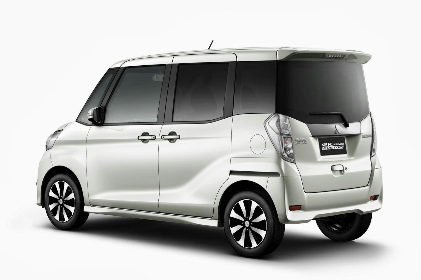 2014 Mitsubishi Ek Space Custom It S Cool To Be Square