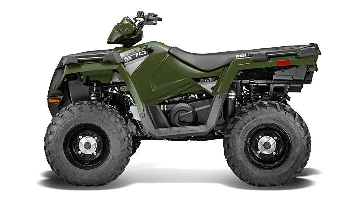 Polaris Outlaw 50 >> 2014 Polaris Sportsman 570 EFI Is Here - autoevolution