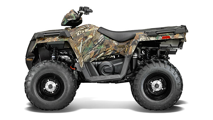 Volkswagen Group Latest Models >> 2014 Polaris Sportsman 570 EFI Is Here - autoevolution