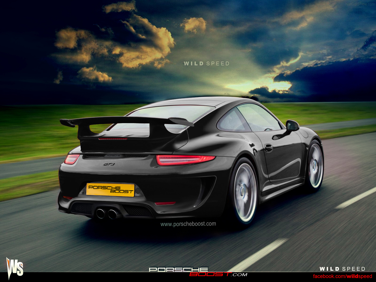 2014 Porsche 911 GT3 Rendering: Manual Version Coming ...