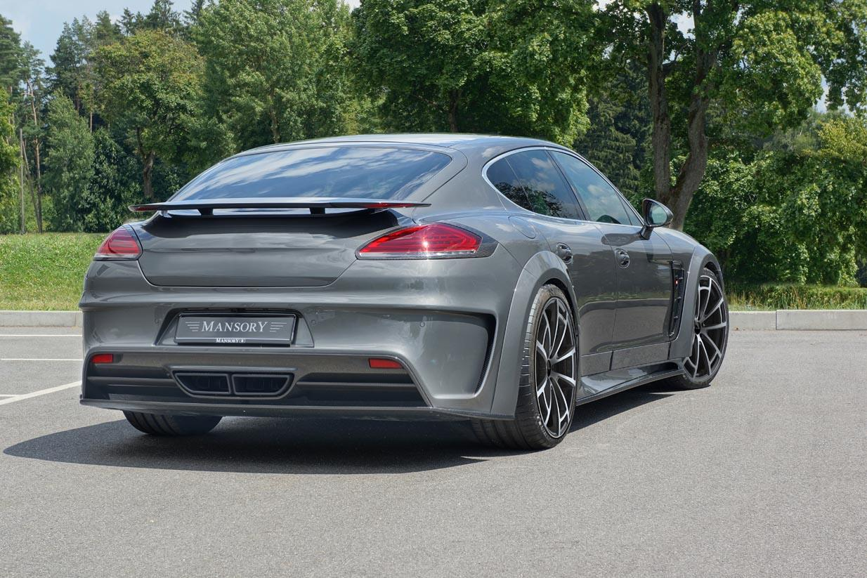 2014 Porsche Panamera Facelift by Mansory Has 680 HP ...