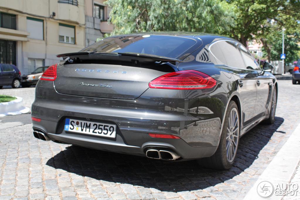 2014 Porsche Panamera Turbo Executive Spotted In Portugal Autoevolution