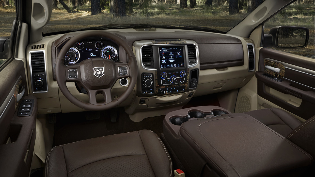 2014 Ram 1500 Laramie Gets Pentastar V6 Option - autoevolution