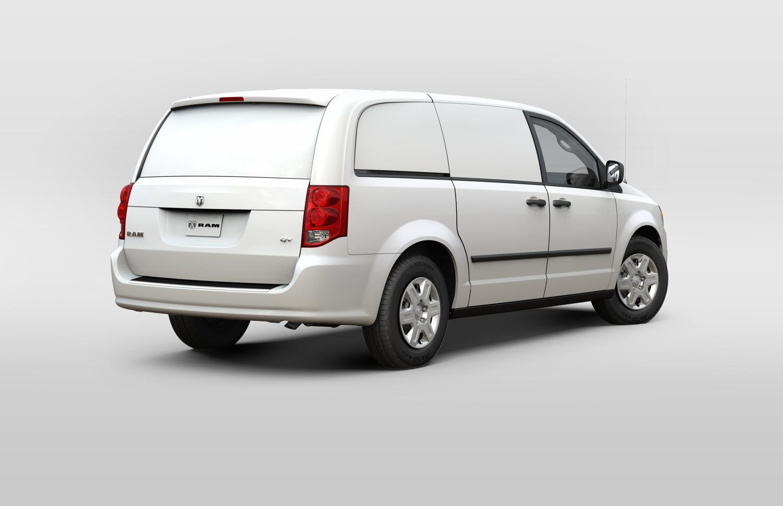 2014 ram cargo van revealed autoevolution. Black Bedroom Furniture Sets. Home Design Ideas