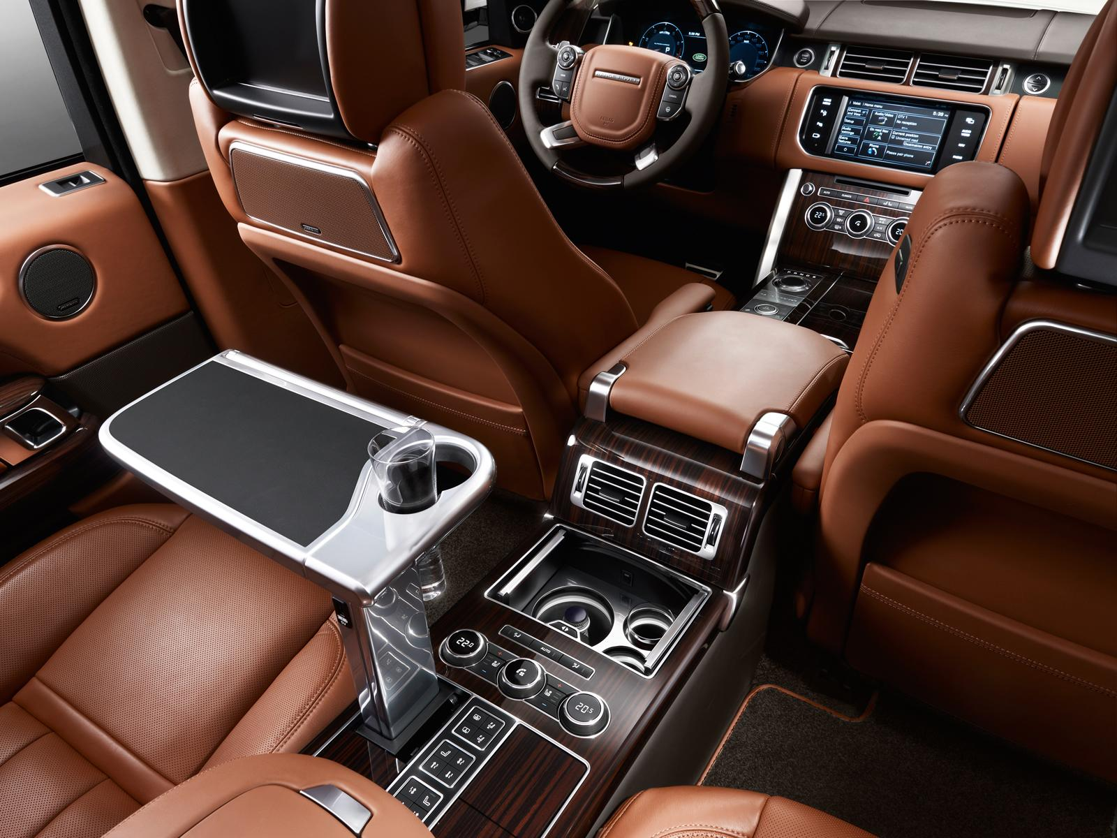 2014 Range Rover L Extended Wheelbase Revealed - autoevolution