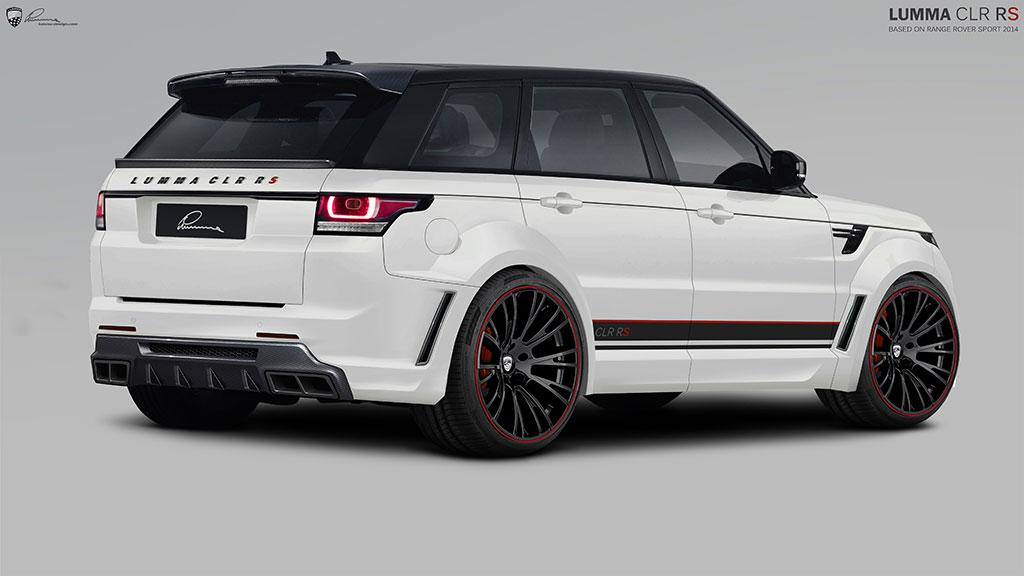 2014 range rover sport by lumma design looks like the hulk