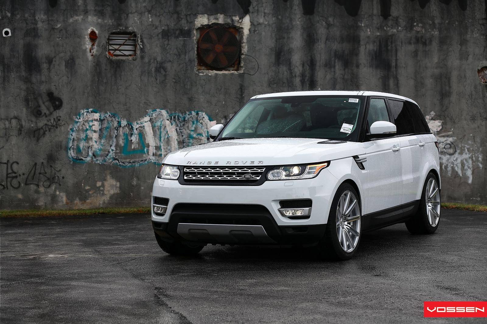 2014 Range Rover Sport Gets Vossen Wheels Autoevolution