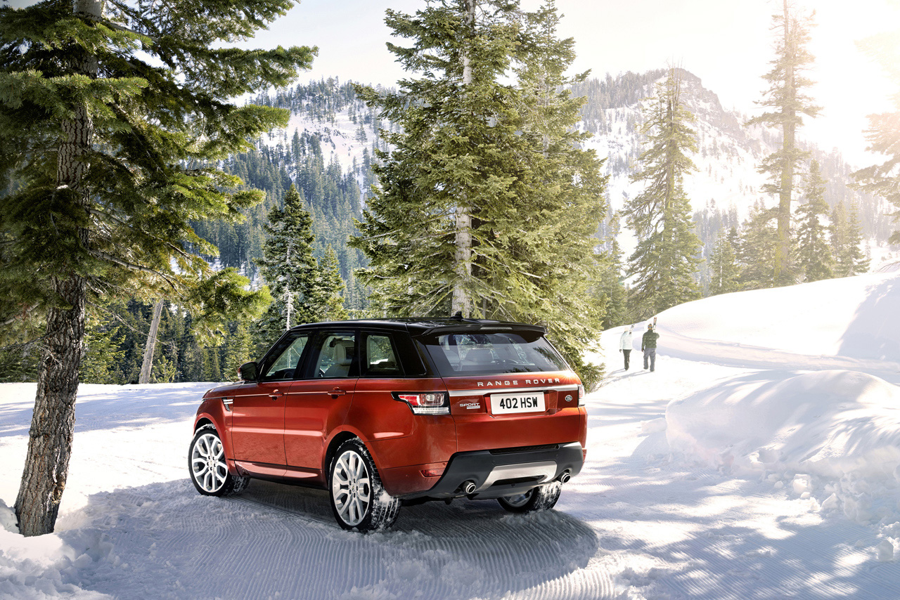 2014 range rover sport revealed in new york autoevolution. Black Bedroom Furniture Sets. Home Design Ideas