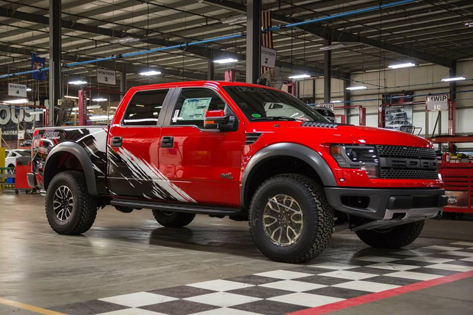 2014 Roush Raptor Truck Gets Custom Graphics