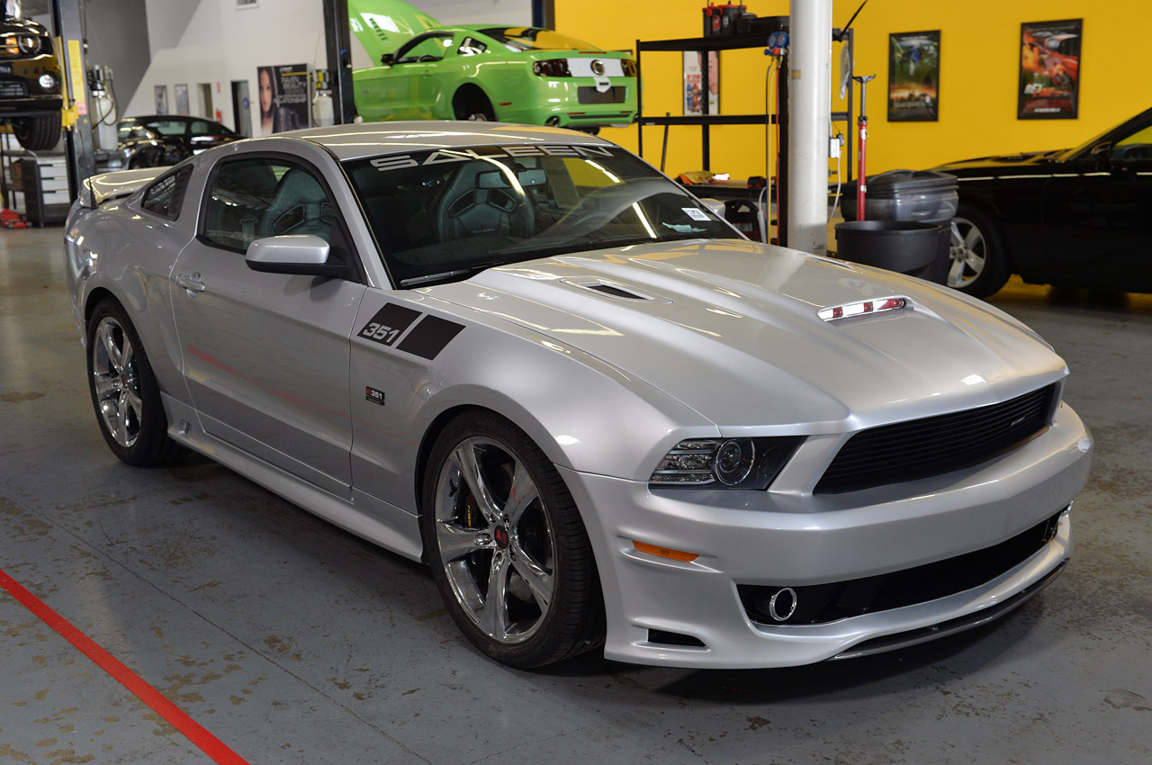 mustang saleen supercharged 351 close personal ford s351 autoevolution cars nationwide california s1 open monstrous deliveries commence later production
