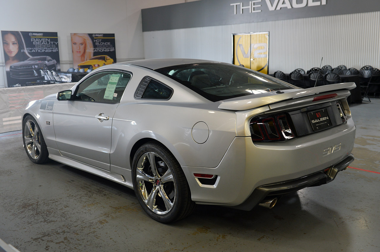 2014 Saleen 351 Supercharged Mustang Up Close and Personal ...