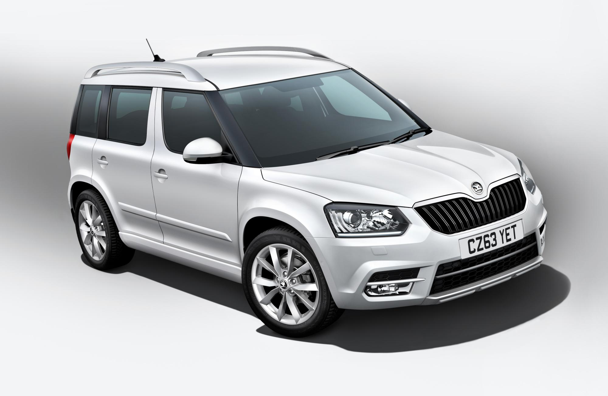 skoda yeti gets frozen to celebrate its uk launch. Black Bedroom Furniture Sets. Home Design Ideas