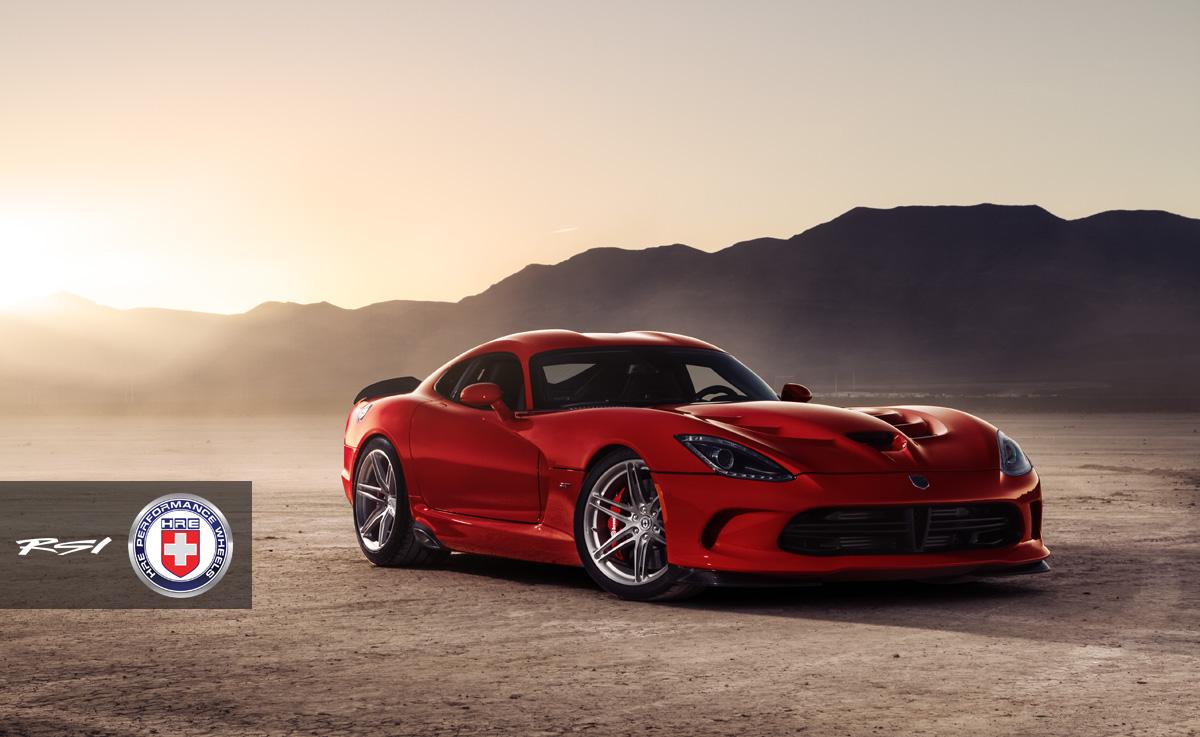 2014 Srt Viper On New Hre P106 Wheels Autoevolution