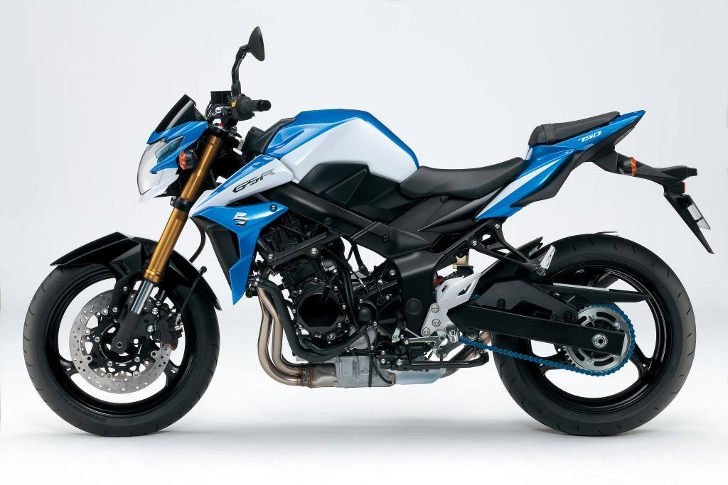 2014 suzuki gsr 750 se breaks cover autoevolution. Black Bedroom Furniture Sets. Home Design Ideas