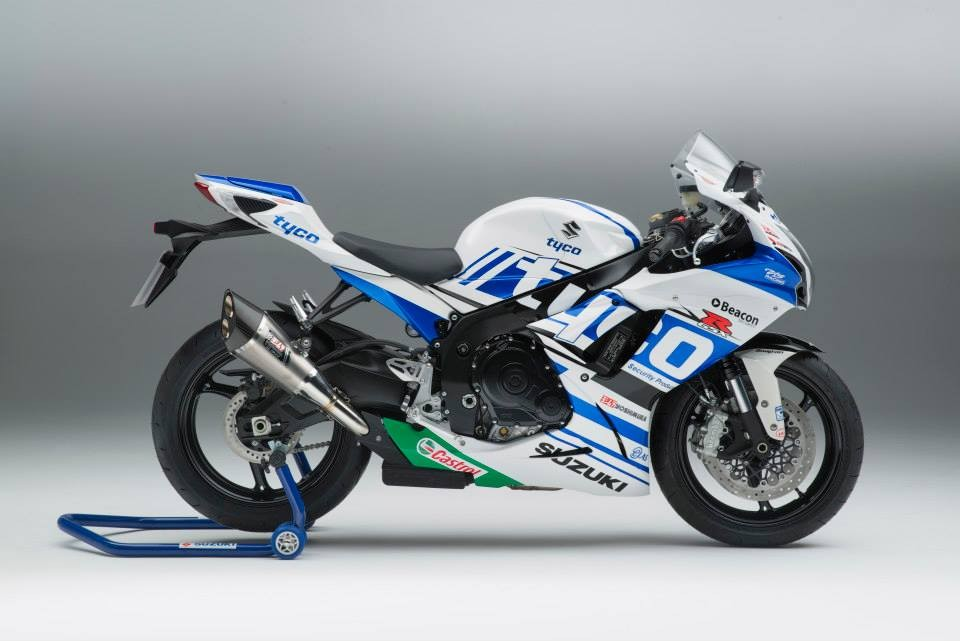 2014 suzuki gsx r 600 tyco replica price revealed autoevolution. Black Bedroom Furniture Sets. Home Design Ideas