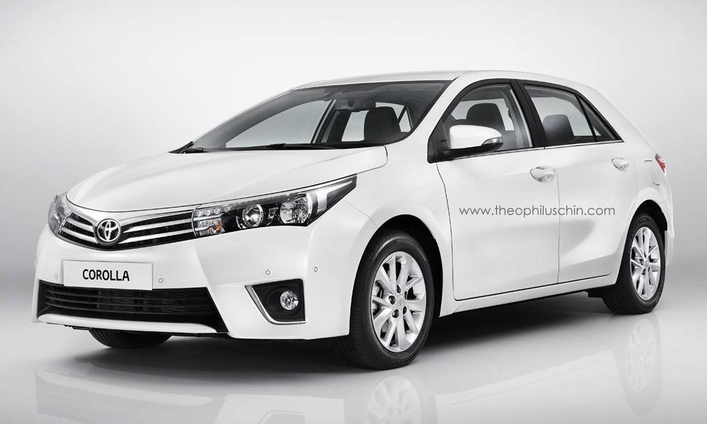 2014 Toyota Corolla Hatchback Rendered Again - autoevolution