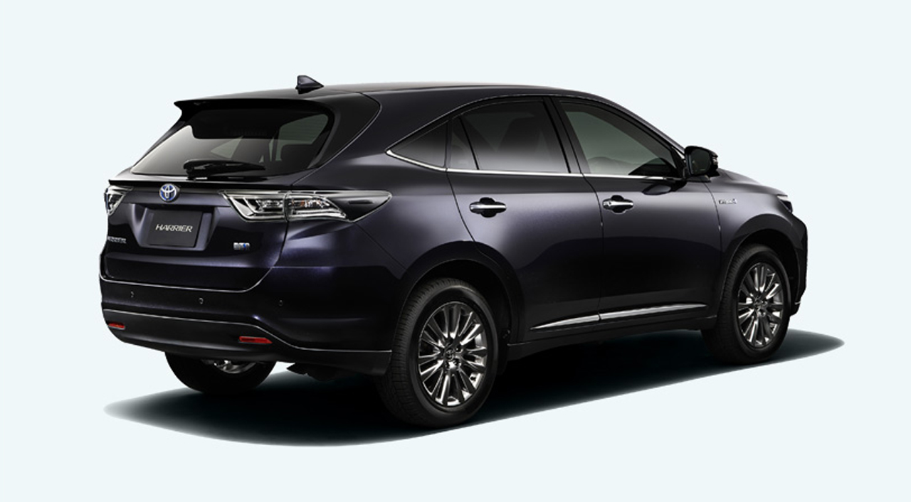 2014 Toyota Harrier First Photos Released Autoevolution