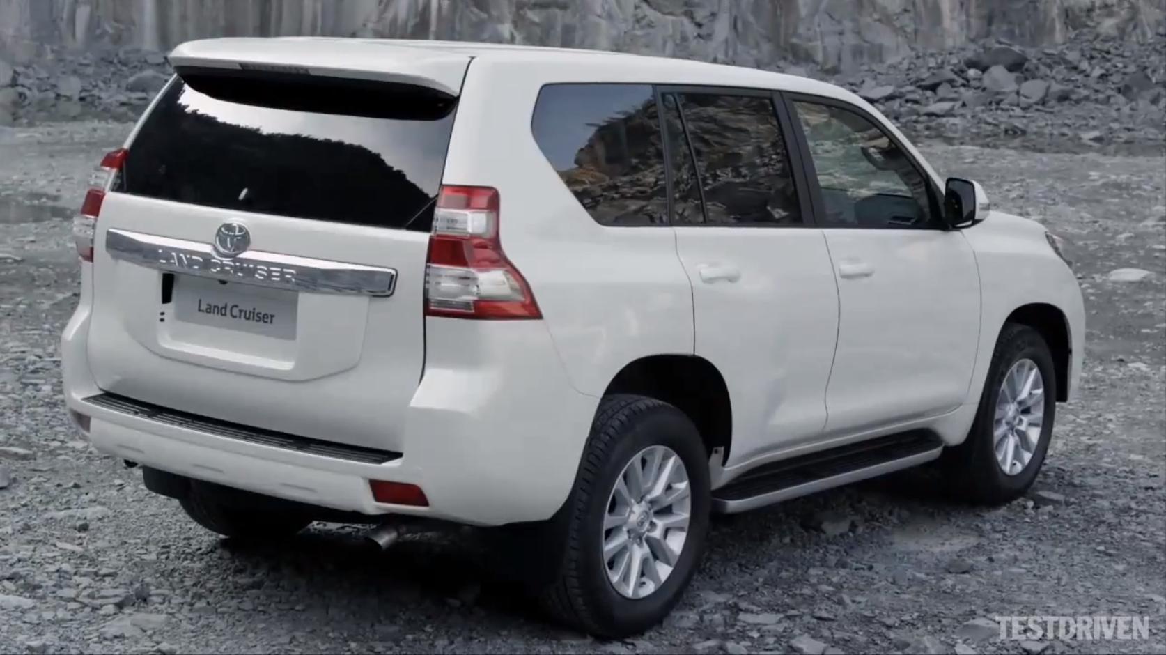 Toyota Land Cruiser Prado Makes Video Debut - Video
