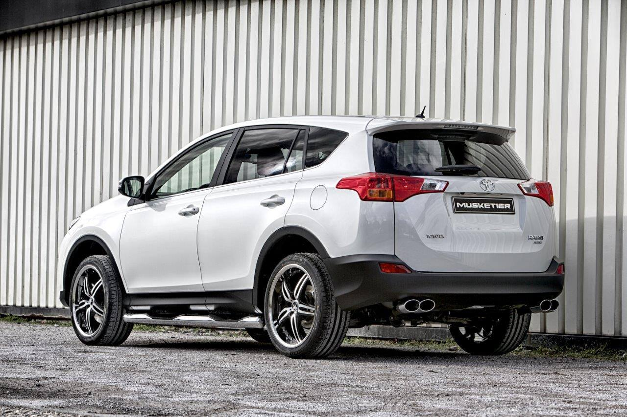 2014 Toyota Rav4 Gets Musketier Pack Autoevolution