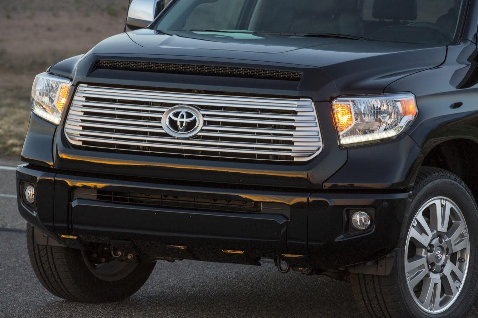 2014 Toyota Tundra Gets Redesigned - autoevolution