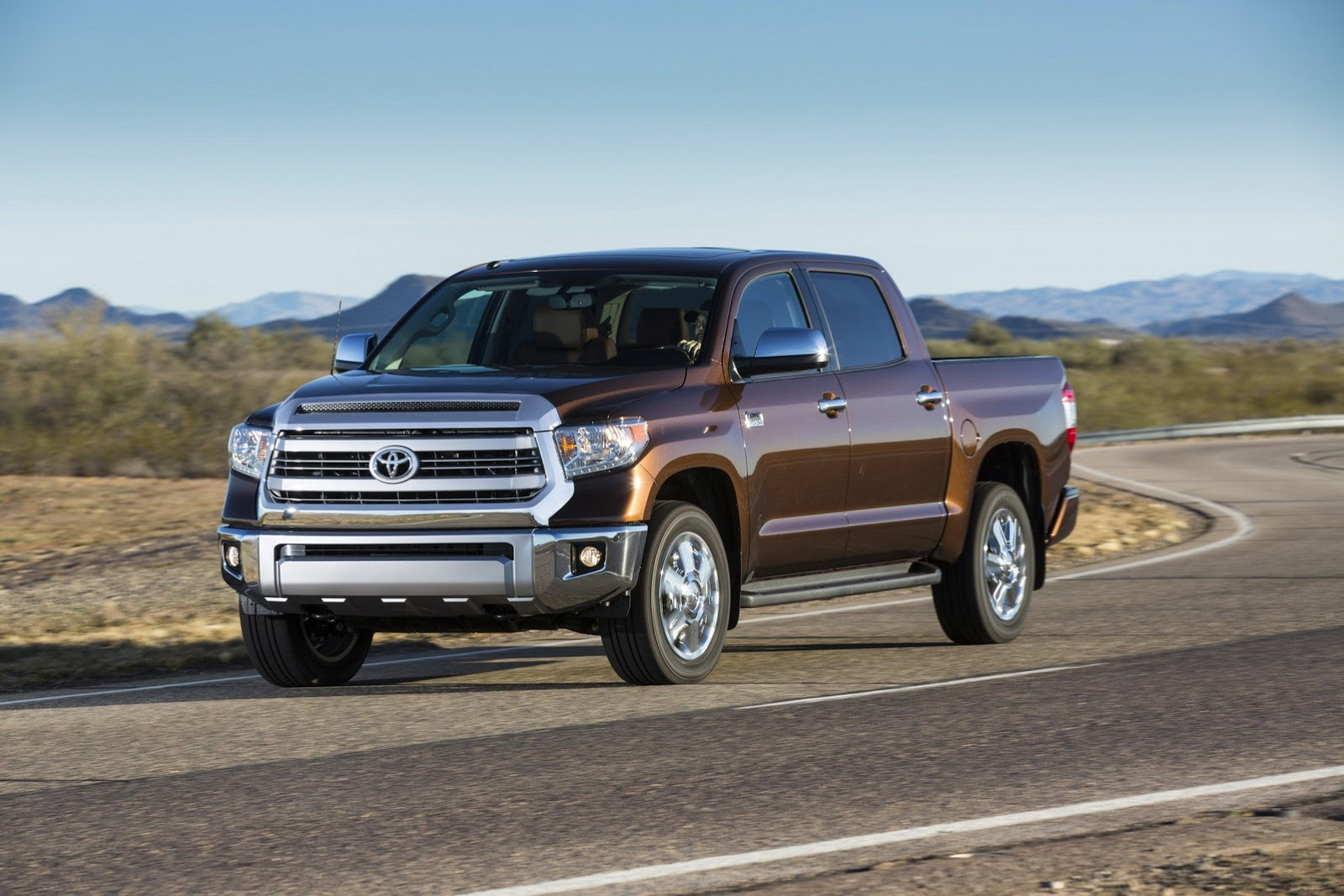 2014 Toyota Tundra Gets Redesigned - autoevolution