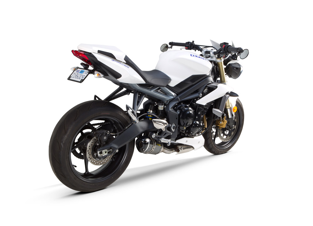 2014 Triumph Street Triple Gets Tbr S1r Custom Exhaust