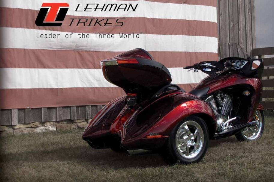 2014 Victory Vision Crossbow Trike by Lehman - autoevolution