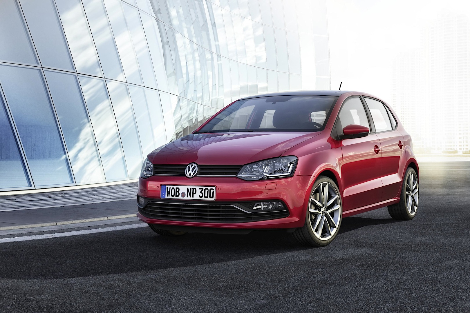 2014 volkswagen polo facelift exterior changes autoevolution. Black Bedroom Furniture Sets. Home Design Ideas