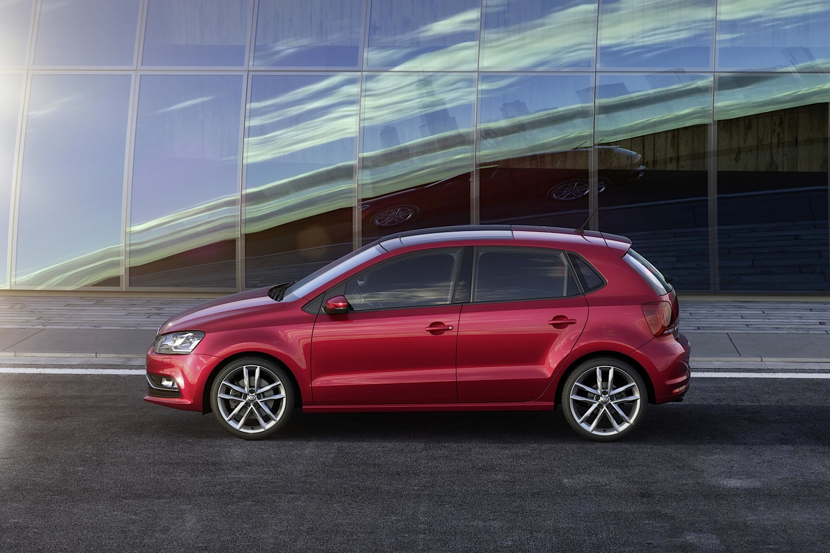2014 Volkswagen Polo Facelift Exterior Changes
