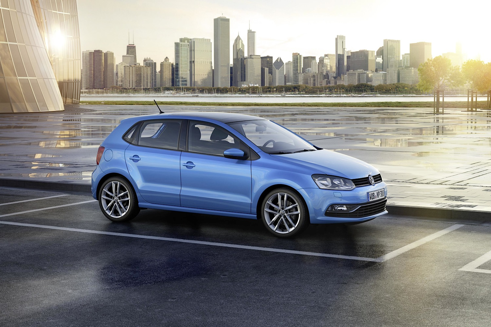 2014 Volkswagen Polo Facelift Exterior Changes Autoevolution